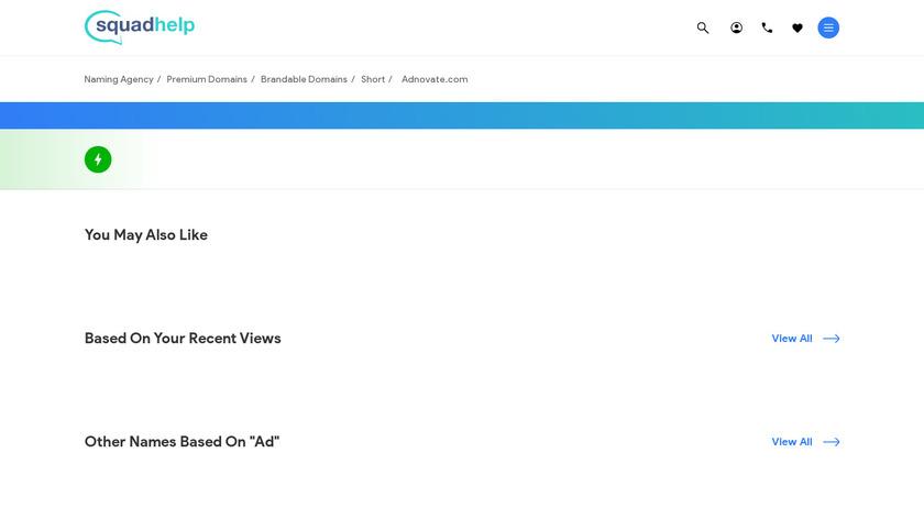 Adnovate Landing Page