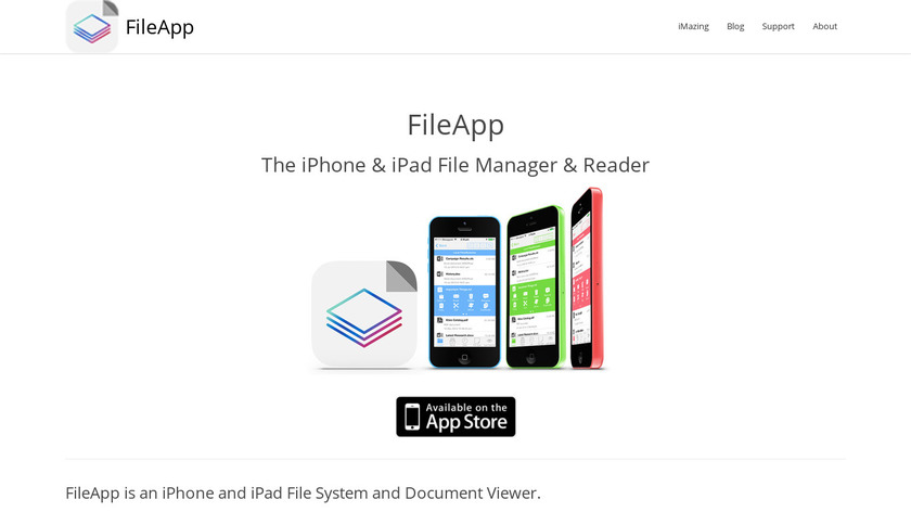 FileApp Landing Page