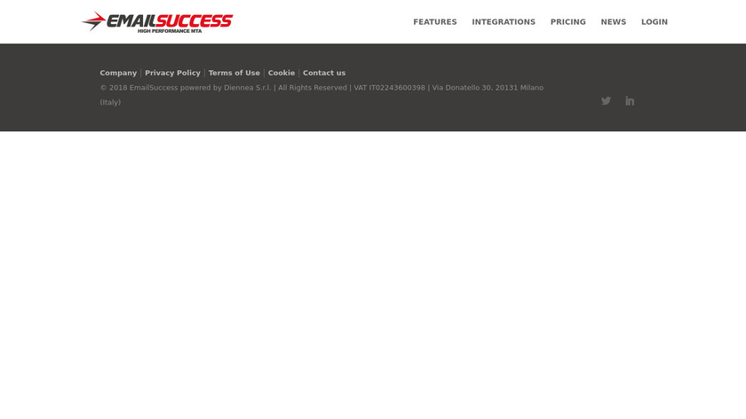 EmailSuccess Landing Page