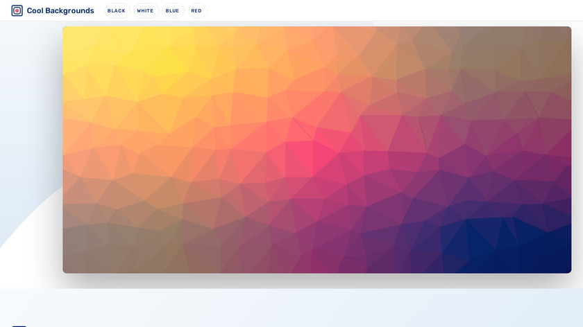 Cool Backgrounds Landing Page