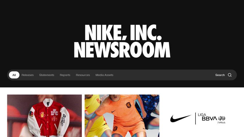 Apple Watch NikeLab Landing Page