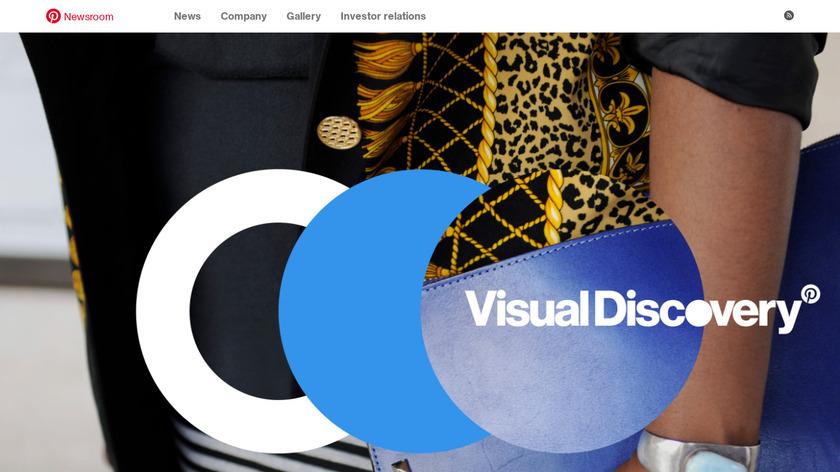 Pinterest Lens Landing Page
