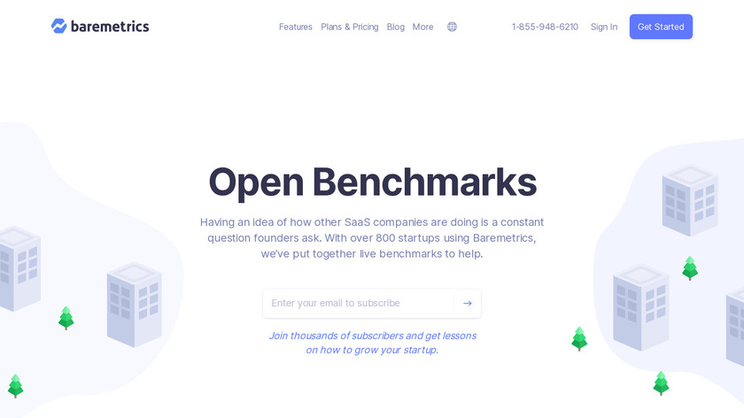 Open Benchmarks Landing Page