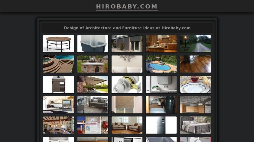 Hiro Baby Landing Page