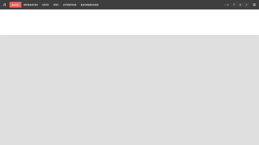 Animista Landing Page