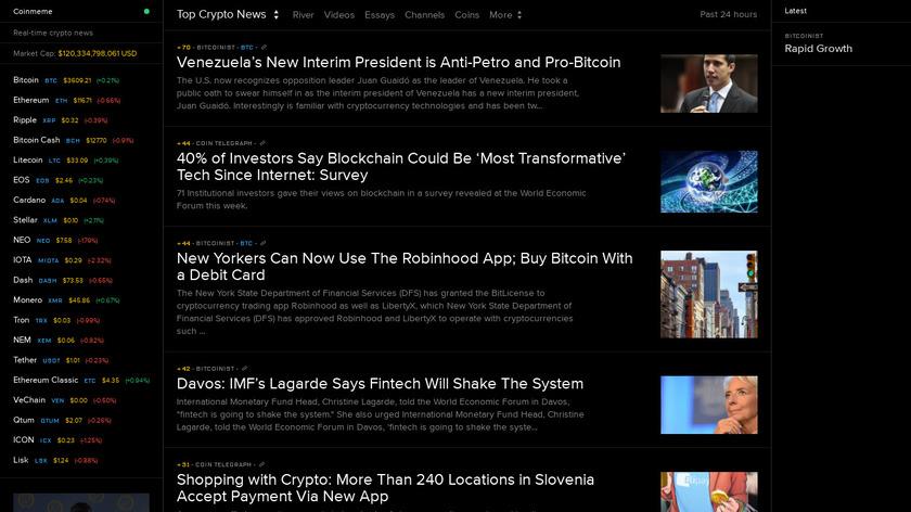 Coinmeme Landing Page
