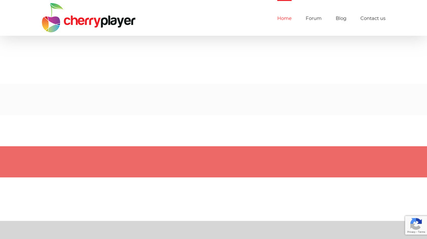 CherryPlayer Landing Page