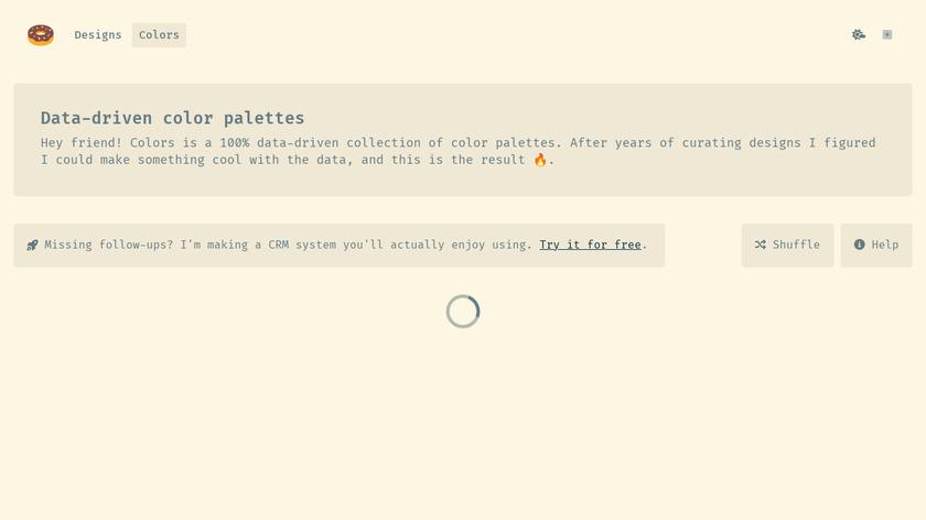 Klart.io Colors Landing Page