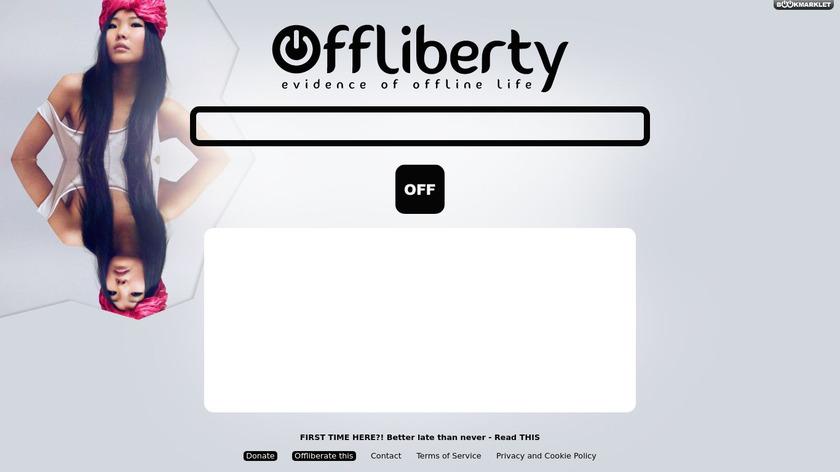 Offliberty Landing Page