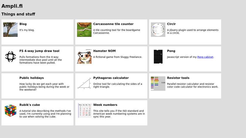 AMPLI.FI Landing Page