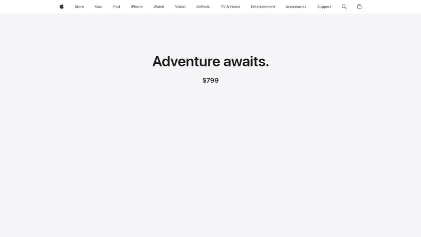 Apple Watch Series 2 Landing Page