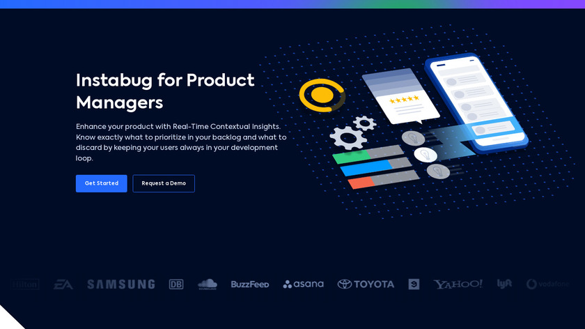 Instabug for Product Managers Landing Page