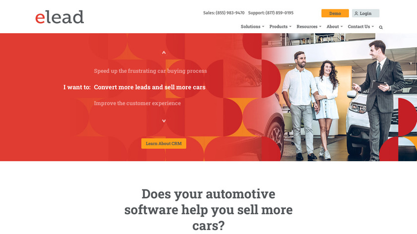 ELEAD1ONE Landing Page