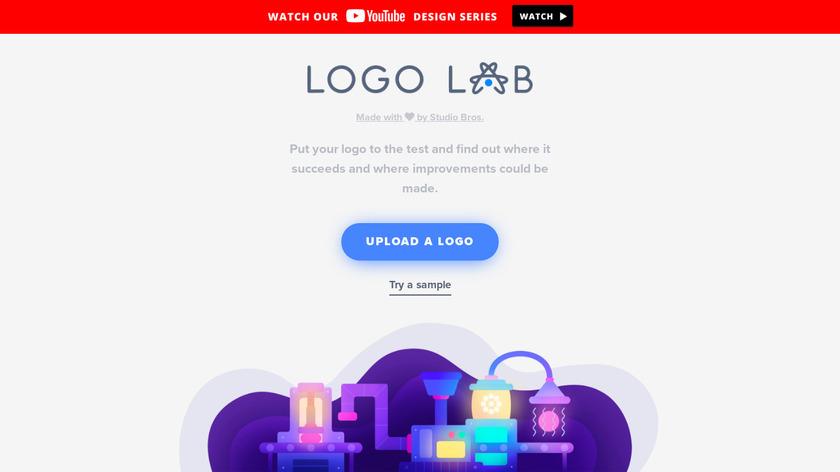 Logo Lab Landing Page