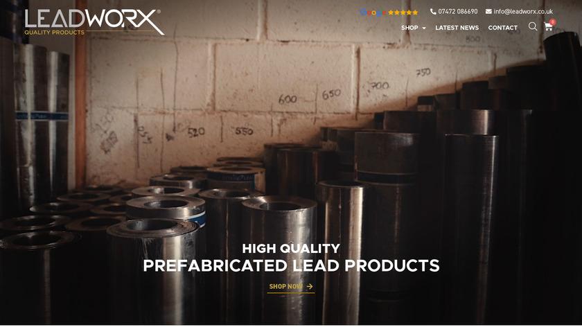 LeadWorx Landing Page