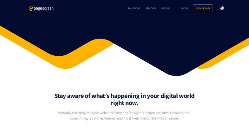 Pagescreen Landing Page