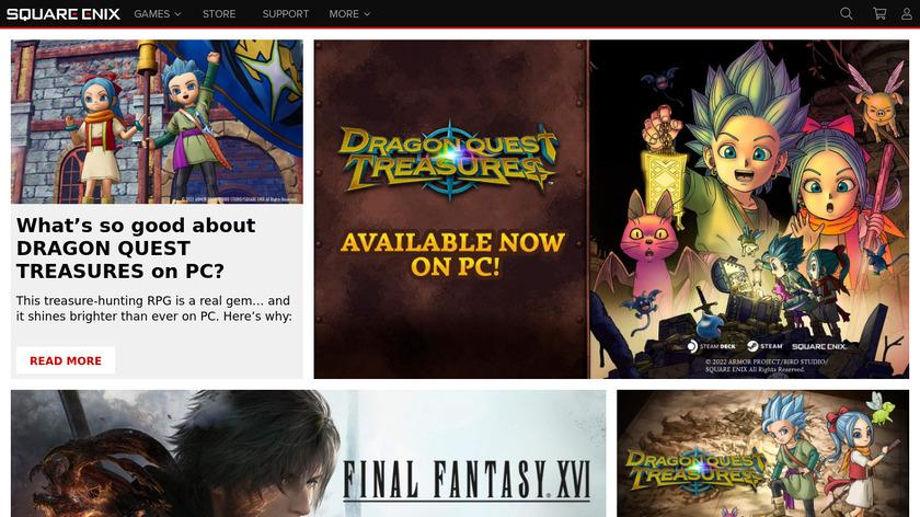 Thief Landing Page