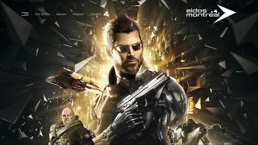 Deus Ex Landing Page