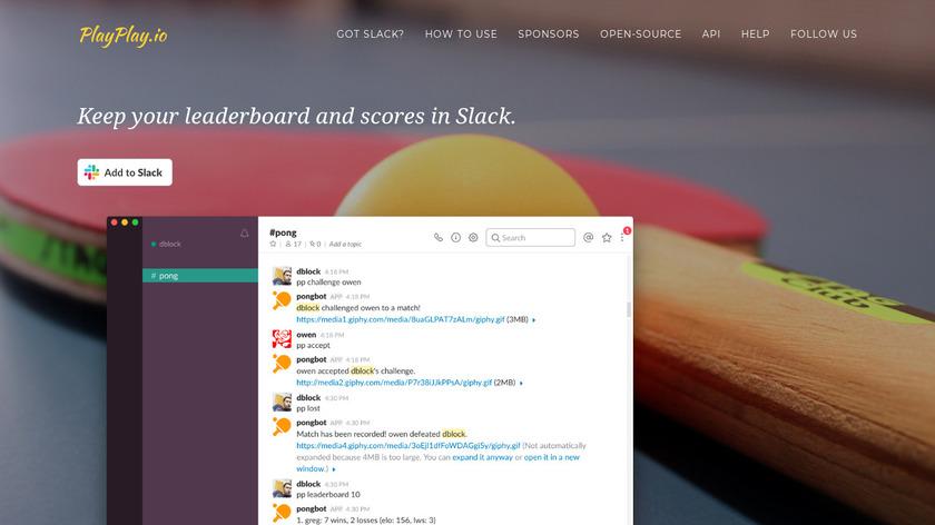 PlayPlay.io Landing Page