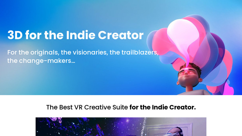 MasterpieceVR Landing Page