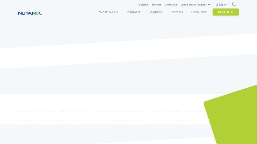 Nutanix Beam Landing Page