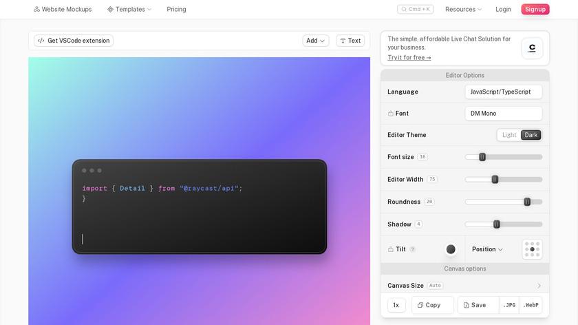 CodeZen Landing Page