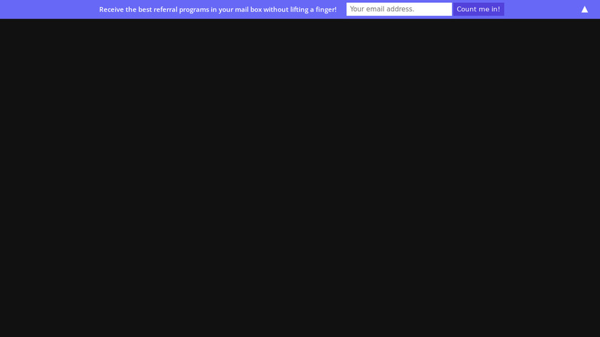 Best Referral Programs Landing Page