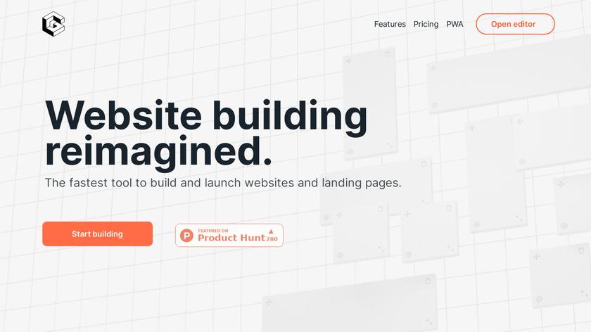 Grid.studio Landing Page