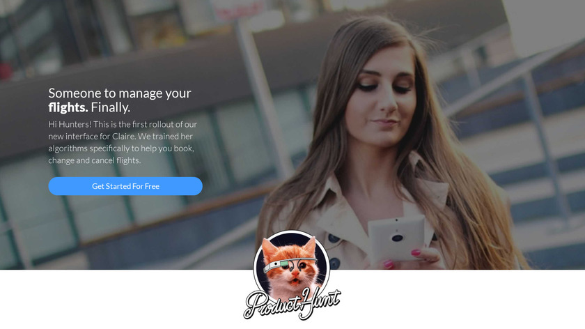 Claire Landing Page