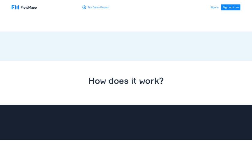 FlowMapp Landing Page