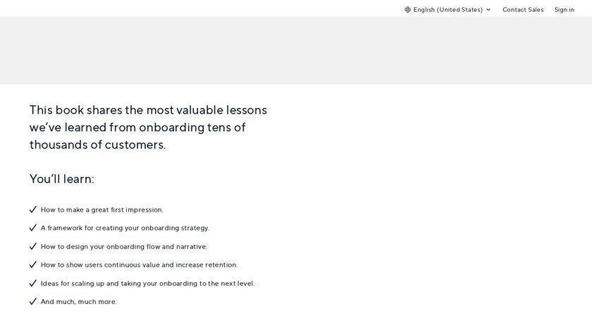 Intercom on Onboarding Landing Page