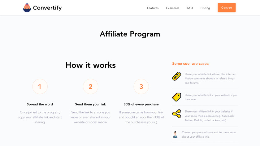 Convertify Landing Page