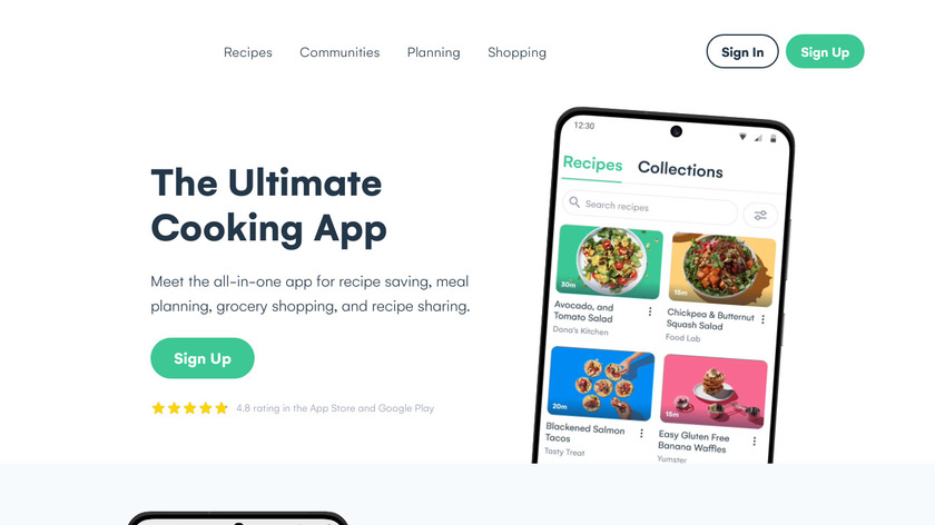 Whisk.com Landing Page