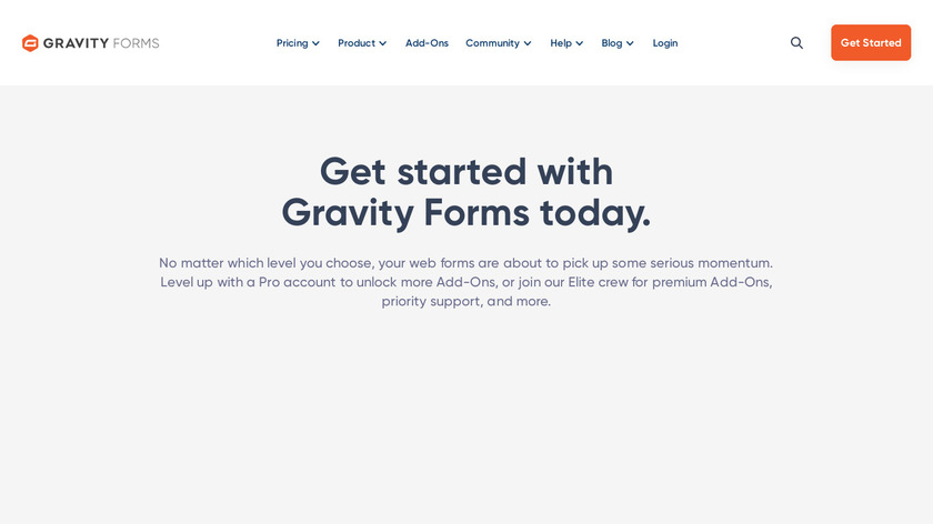 Gravity Forms Landing Page