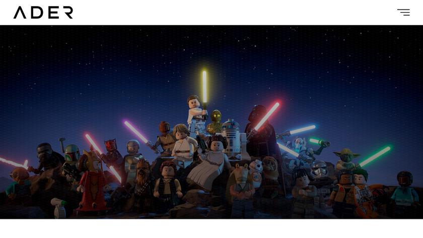 Ader Landing Page