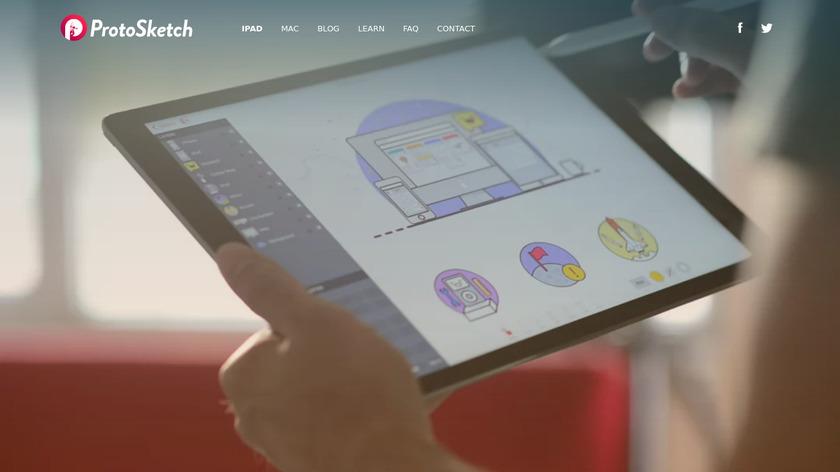 ProtoSketch Landing Page