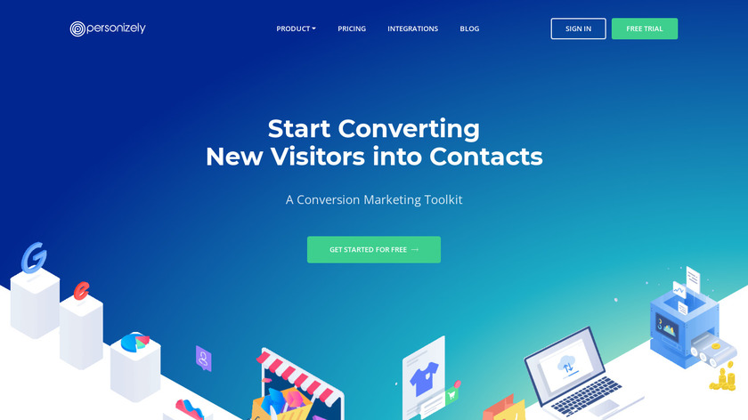 Personizely Landing Page