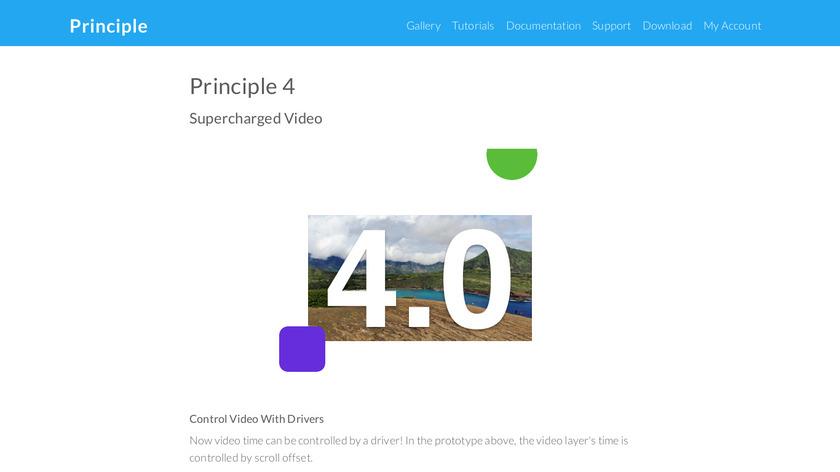 Principle for Mac Landing Page