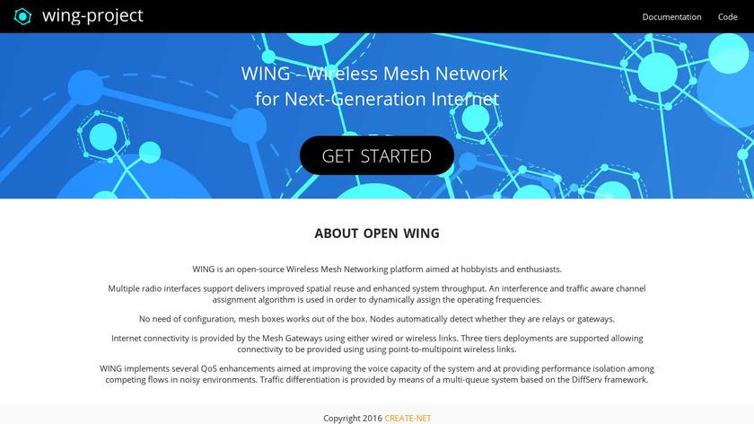 WING Landing Page