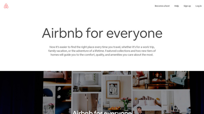 Airbnb Trips Landing Page