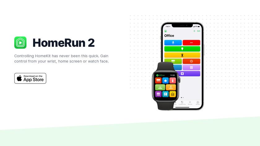 HomeRun for HomeKit Landing Page