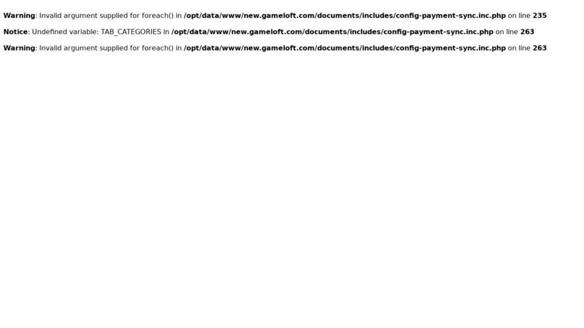 Asphalt Landing Page