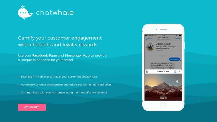 ChatWhale Landing Page