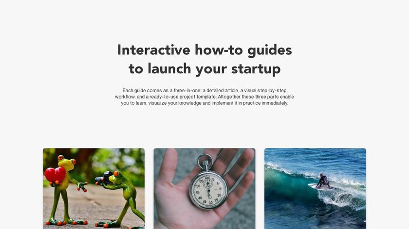 Startup Toolkit Landing Page