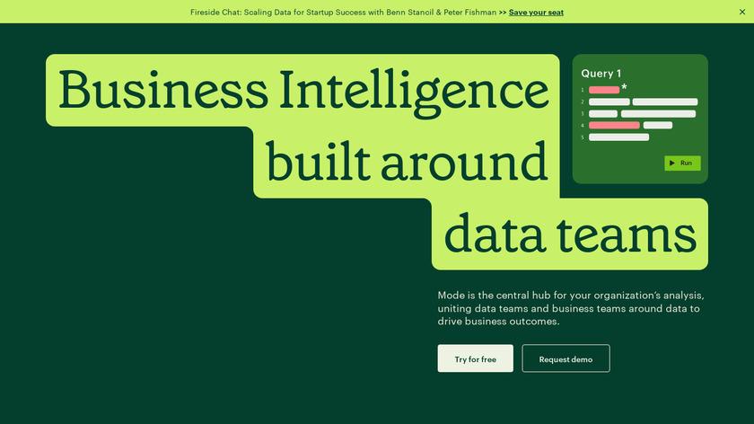Mode Studio Landing Page