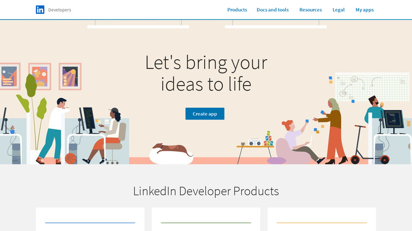 LinkedIn Students Landing Page