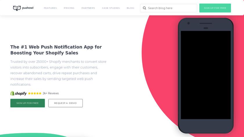 PushOwl Landing Page