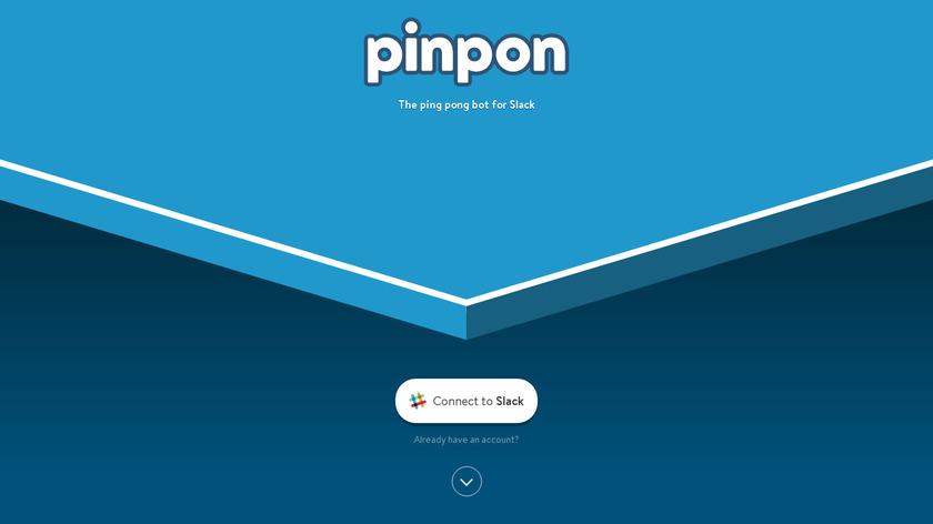 Pinpon Landing Page