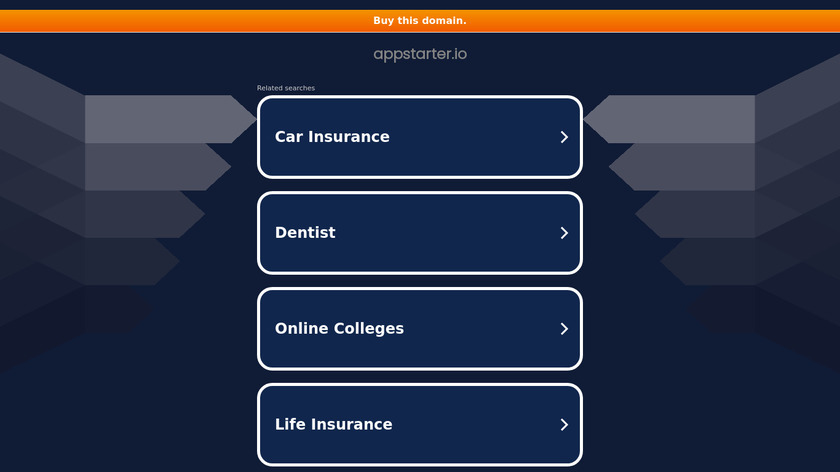AppStarter.io Landing Page