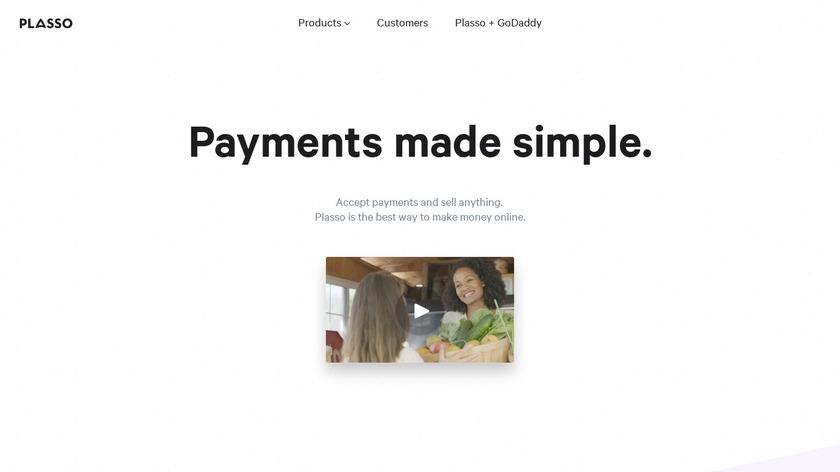 Plasso.com Landing Page